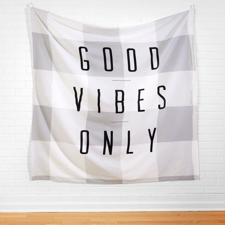 GOOD VIBES ONLY TAPESTRY