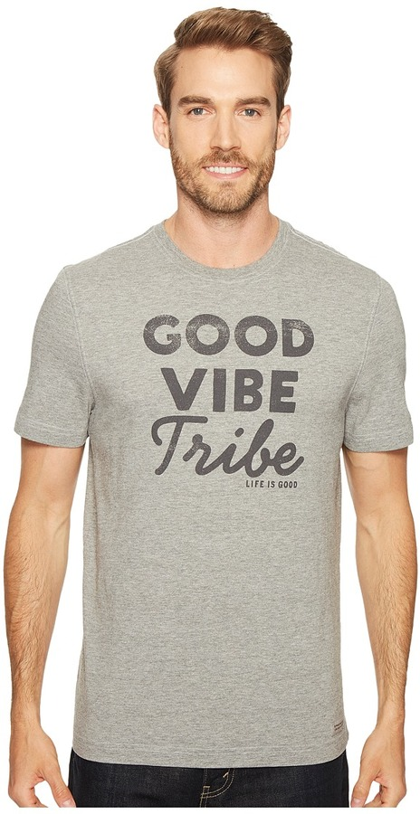 GOOD VIBE TRIBE CRUSHER TEE MEN'S T SHIRT