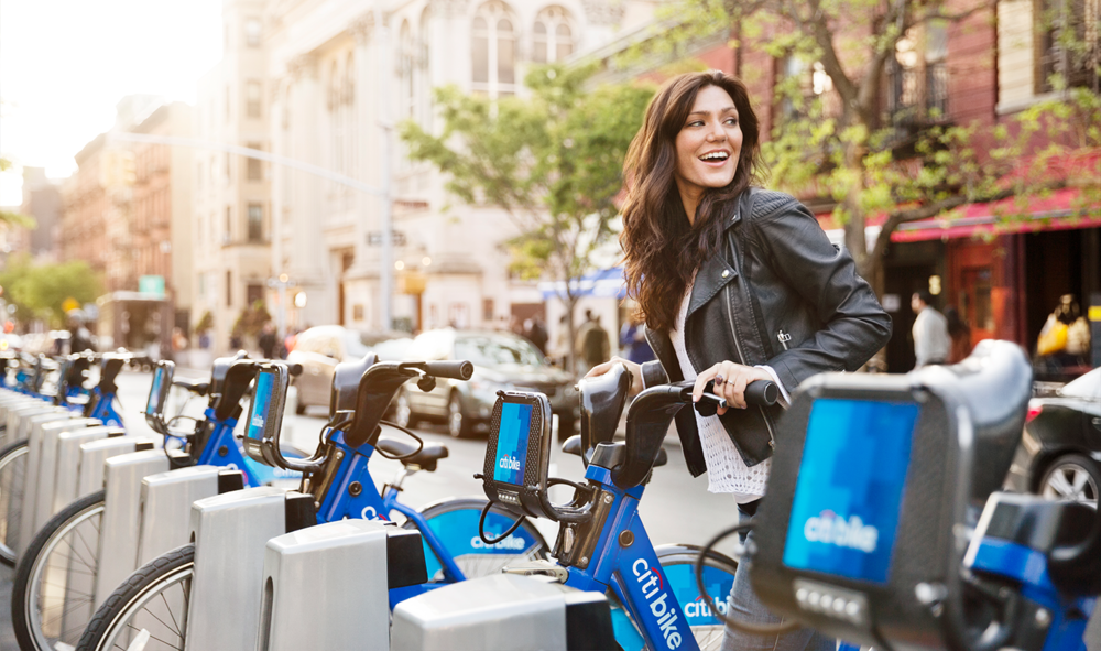 Citi Bike is now one of the more popular types of transportation.  (click image)