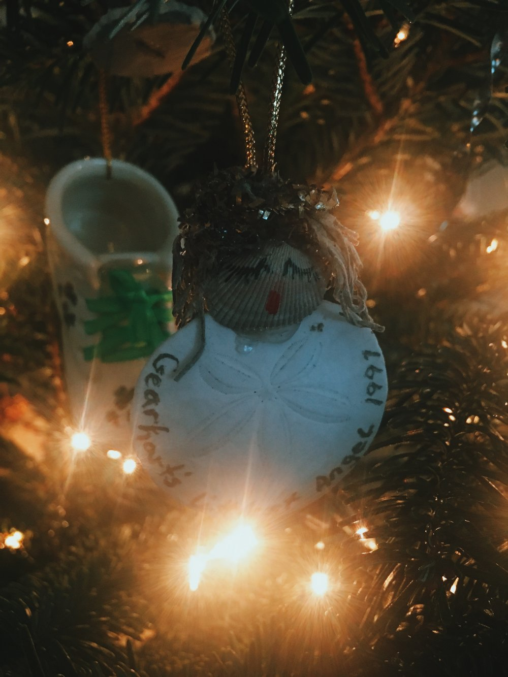 This ornament broke few days after I took the photo.