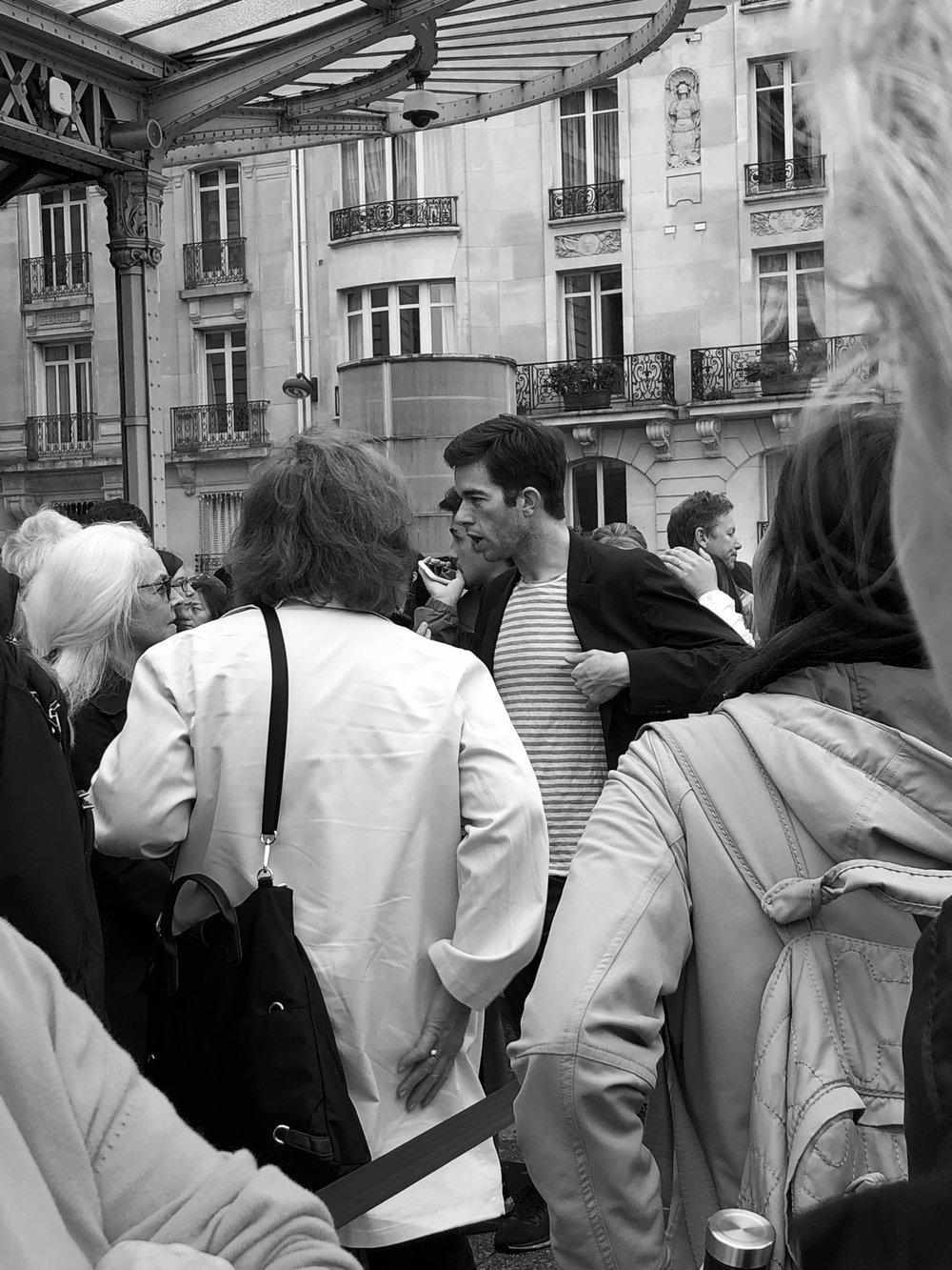 John Mulaney at Museé d'Orsay