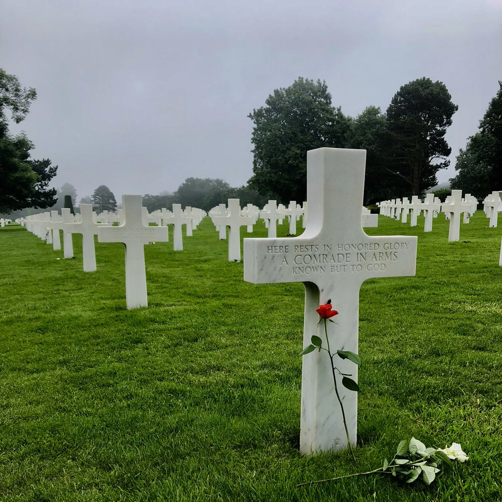 """""""Here rests in honored glory, a comrade in arms, know but to God"""""""