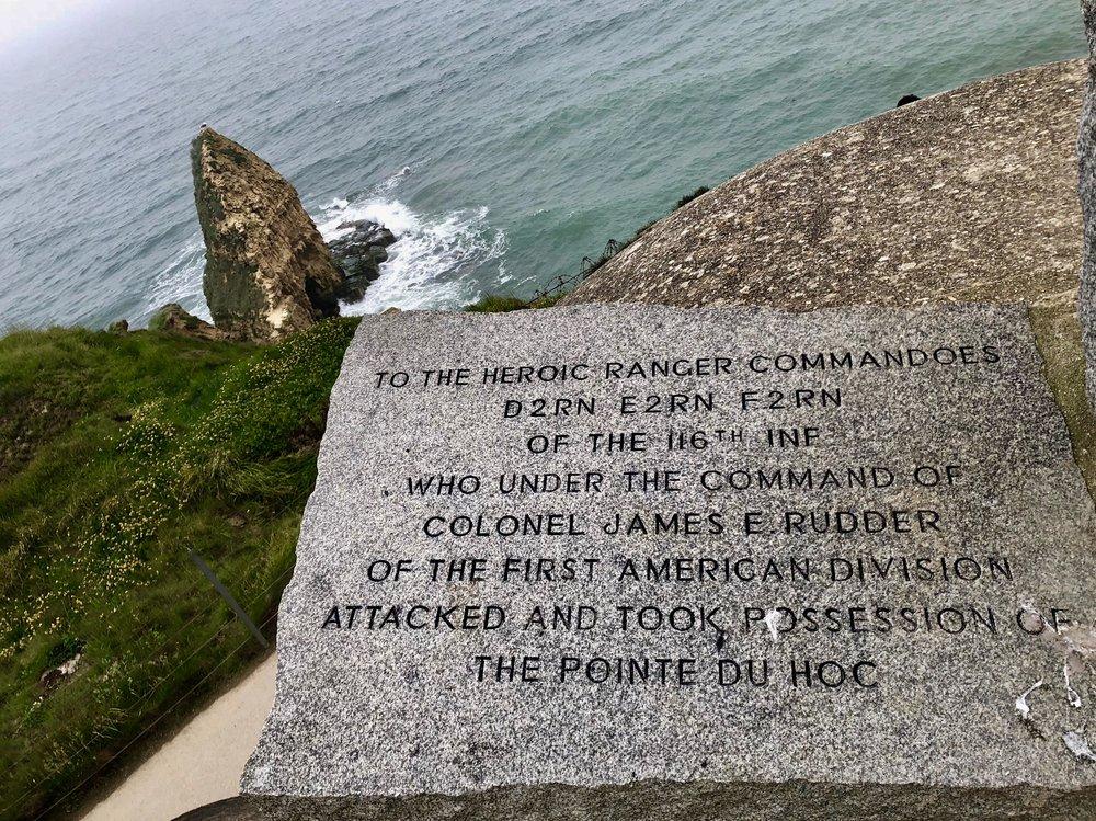 Pointe du Hoc & Normandy Beaches