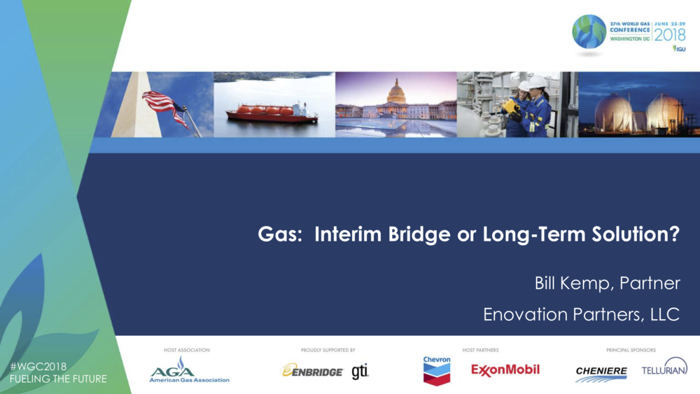 Bill Kemp's presentation at the World Gas Conference