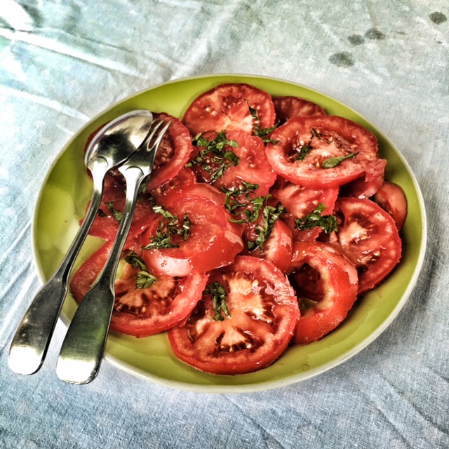 Tomatoes, a staple of the French diet.