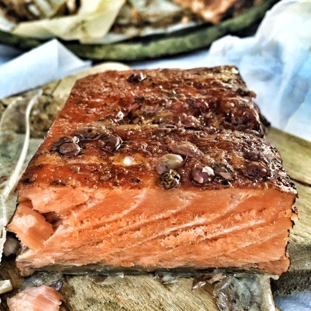 Maurine's salmon.