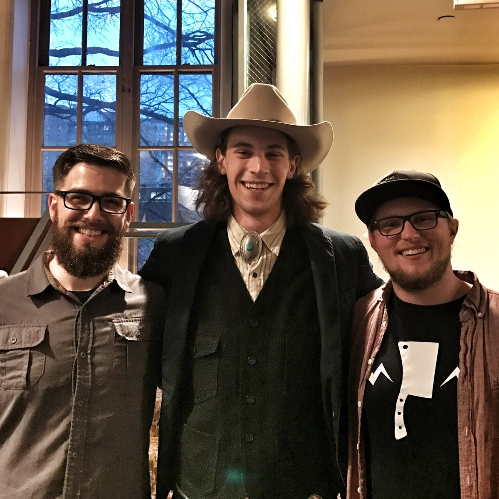 Matt Levere of  Urban Butcher ,  George Turkette of Turchetti's Salumeria, and I at Charcuterie Masters 2017. These two guys are masters of their craft and leaders in the American charcuterie movement - I was honored at the chance to chat and get to know them.