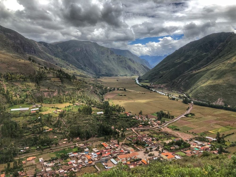 The Sacred Valley, once the royal estate of the Incan Emperor.