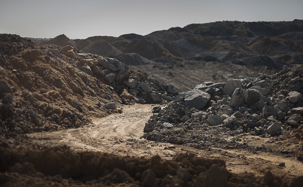 Coal mine, Blair Athol, Central Queensland  from the  Days of Plenty series , 2012, pigment print on platine fibre rag paper