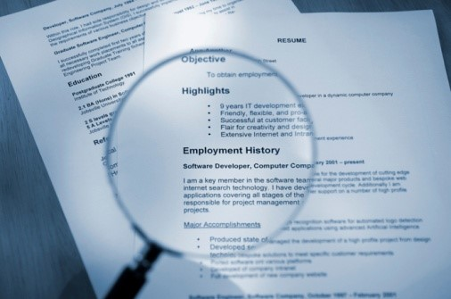 resume review software
