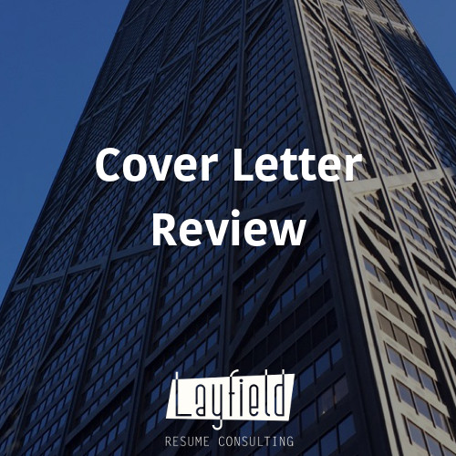 cover letter review - Cover Letter Review