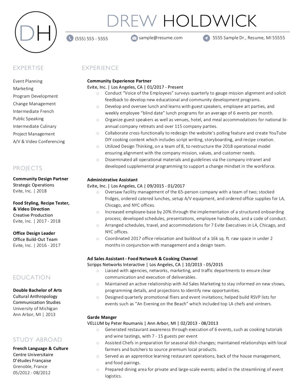 client resume 34 - 34 Small Business Consultant Resumes Experience