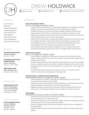 3e6c7b6936366 Samples — Layfield Resume Consulting