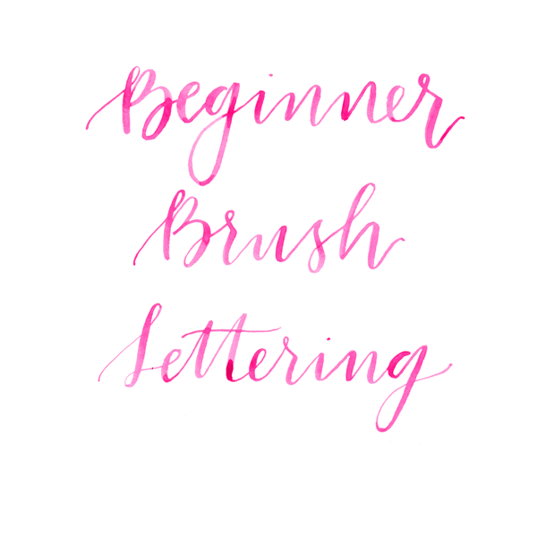 Beginner-Brush-Lettering