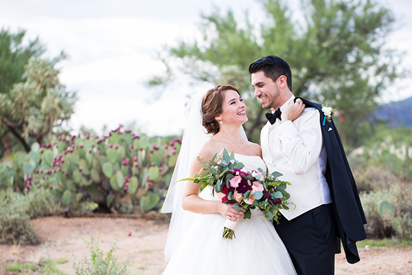 Tucson Arizona Wedding Cacti