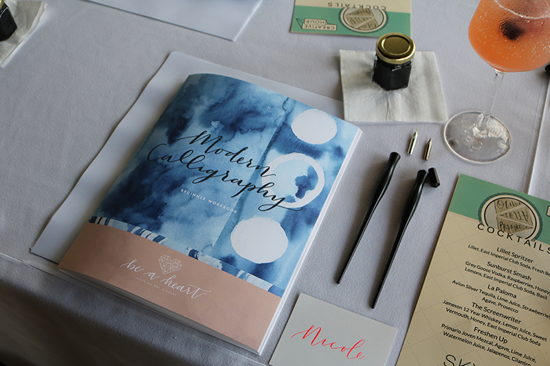 Modern Calligraphy at the Mondrian