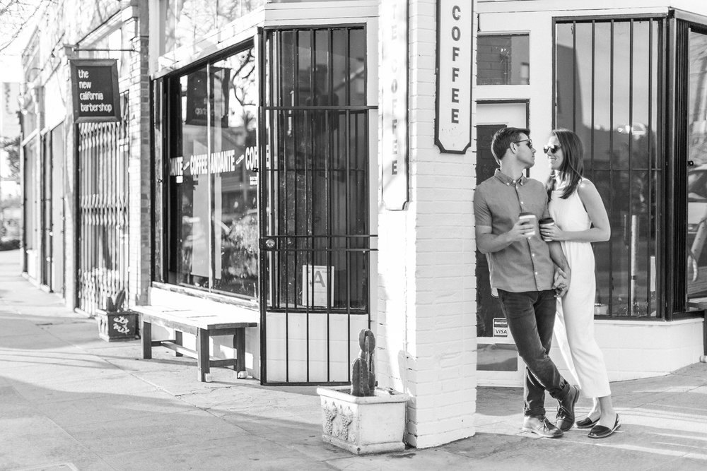 Echo Park Engagement Shoot