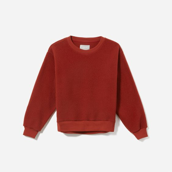 These  fuzzy sweatshirts  are needed for cozy winter nights.