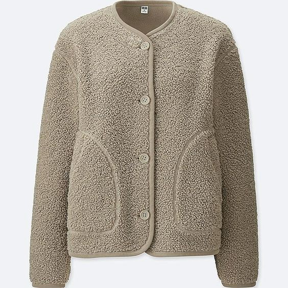 At the local coffee shop the other day, the barista was wearing this  sweater jacket . I loved it and asked where she got it. Now we can all have it!