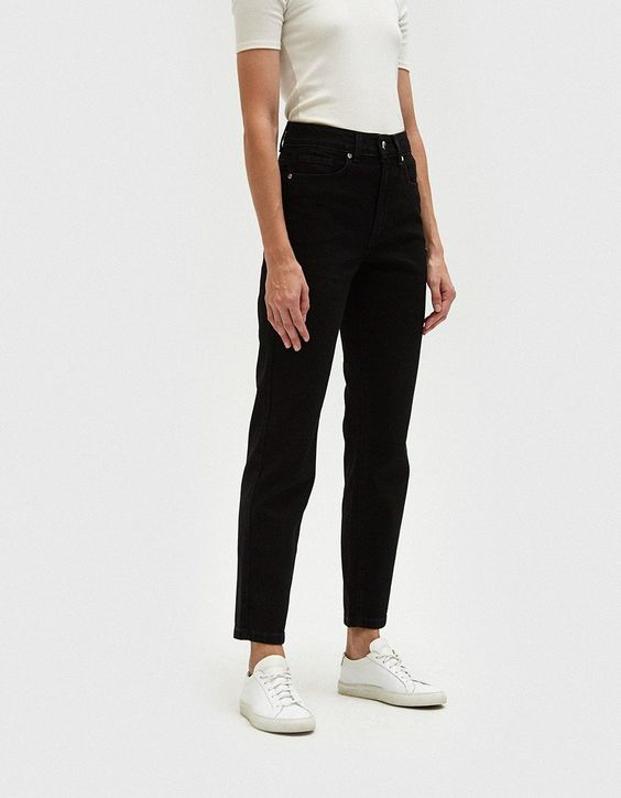 I have bene very into loose fitting jeans and these  black jeans  from Need Supply Co. will go perfectly with cozy sweaters!