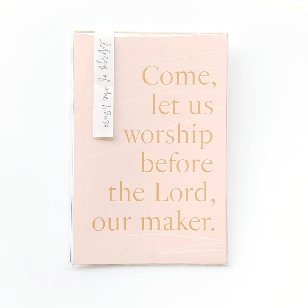 liturgy of the hours prayer cards catholic modern design