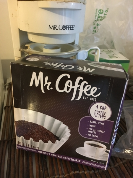 Reunited! Mr. Coffee, meet your filter.