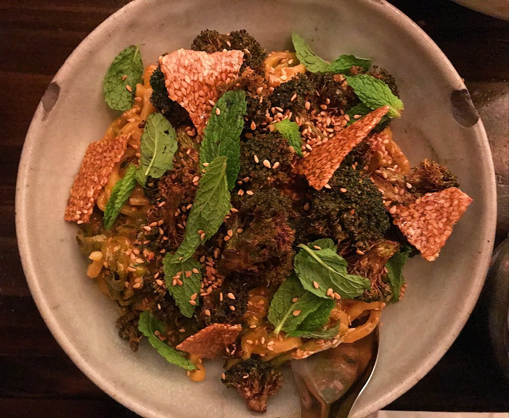 Hot and spicy sesame noodles (my must-order favorite)