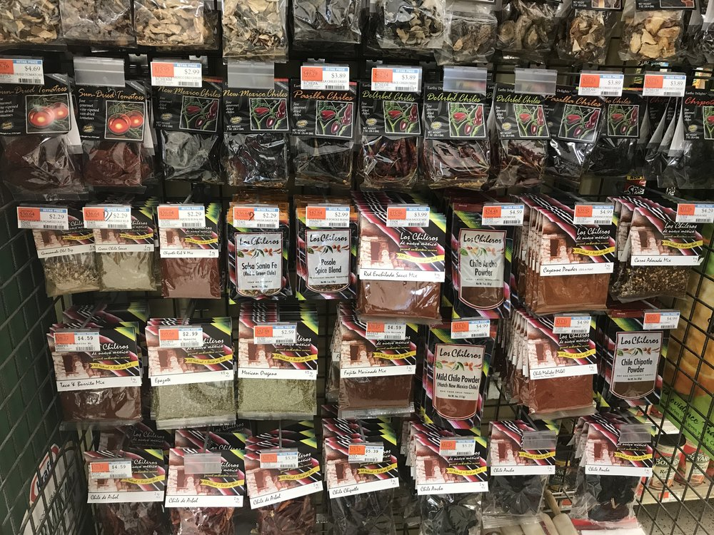 a wall of chile! From New Mexico!!