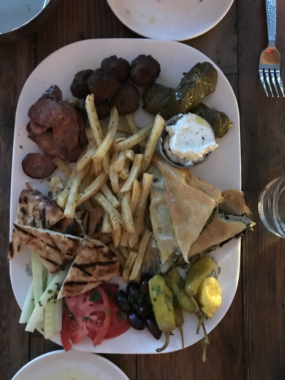 We were actually full after the Meze platter.