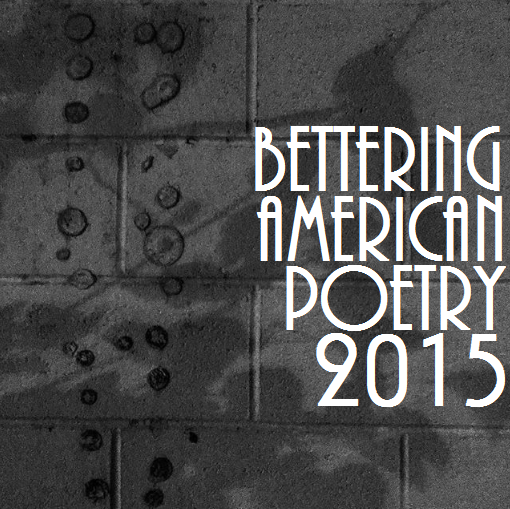 Bettering American Poetry 2015 Cover Image