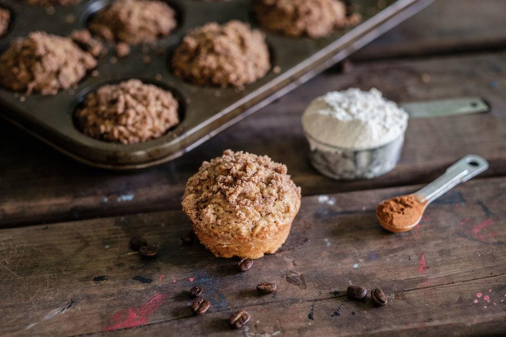 Capuccino muffins