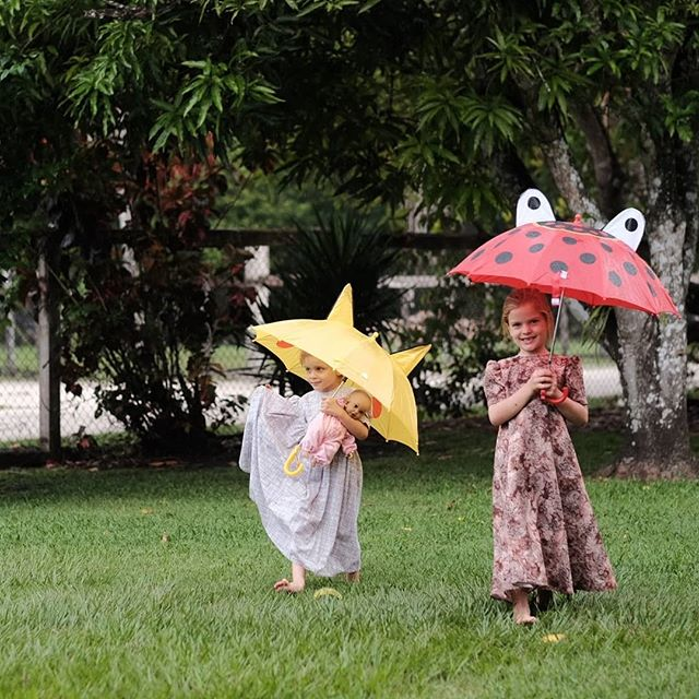 New umbrellas from Grandma - perfect for rainy season ☔ - - - - #adventuresofchildren #atdiff_kids #candidchildhood #celebrate_childhood #childhoodeveryday #childhoodunplugged #childofig #childrenseemagic #dpmagfaves #enchantedchildhood #follow_this_light #heaventhrumylens #illuminatechildhood #infinity_children #kidsforreal #let_there_be_delight #letthekids #letthemexplore #magicofchildhood #my_magical_moments #pixel_kids #cameramama #Belize #umbrellagirls