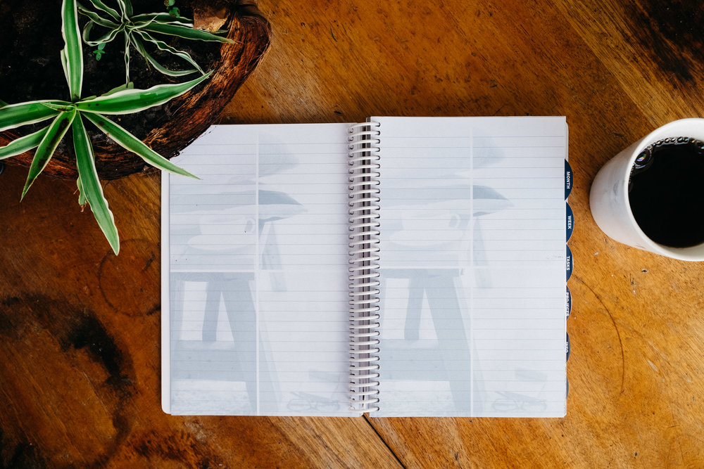 These blank pages would make a great place to journal