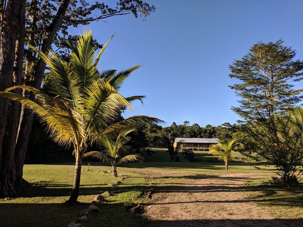 The beautiful Bible school grounds