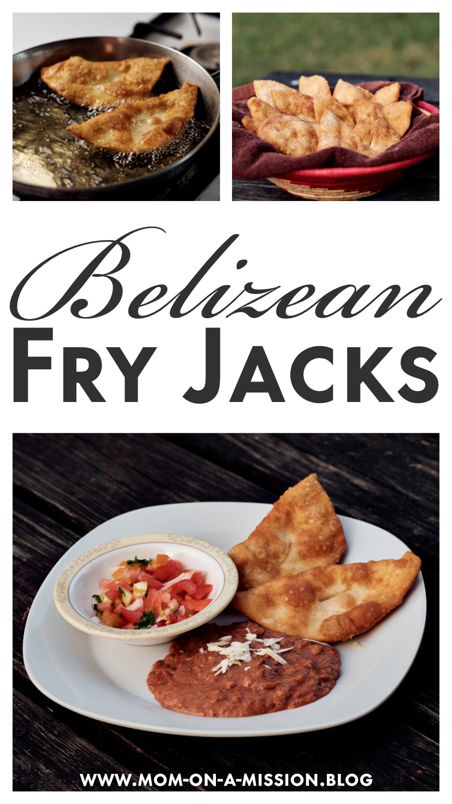 A Belizean favorite, these fry jacks delicious for breakfast, lunch, supper, or dessert. #belizeanfood #fryjack #homemade #recipe #momonamissionblog
