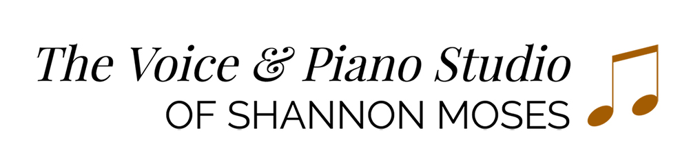 The Voice & Piano studio of Shannon Moses