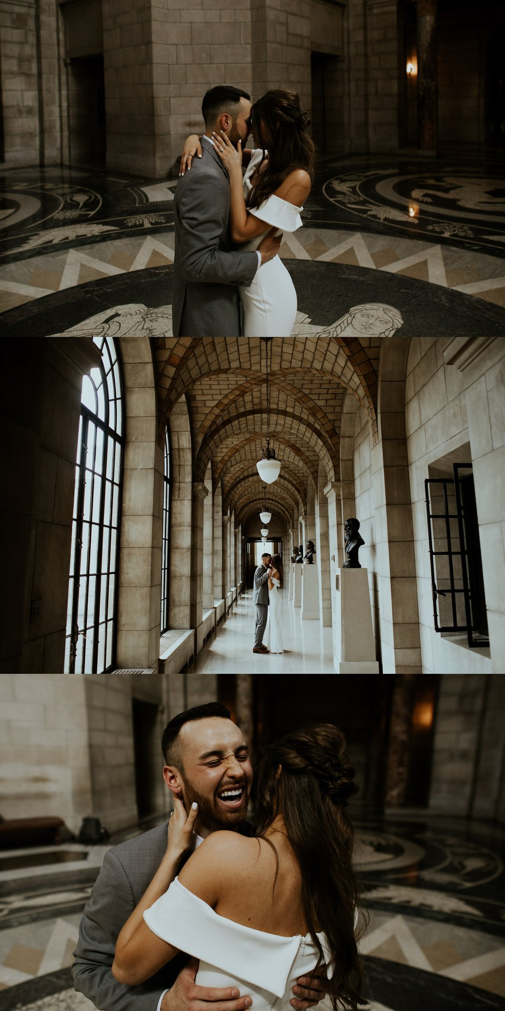 Spring Nebraska State Capitol Engagement Session - Gabby and Michael - Trin Jensen Photography_0003.jpg