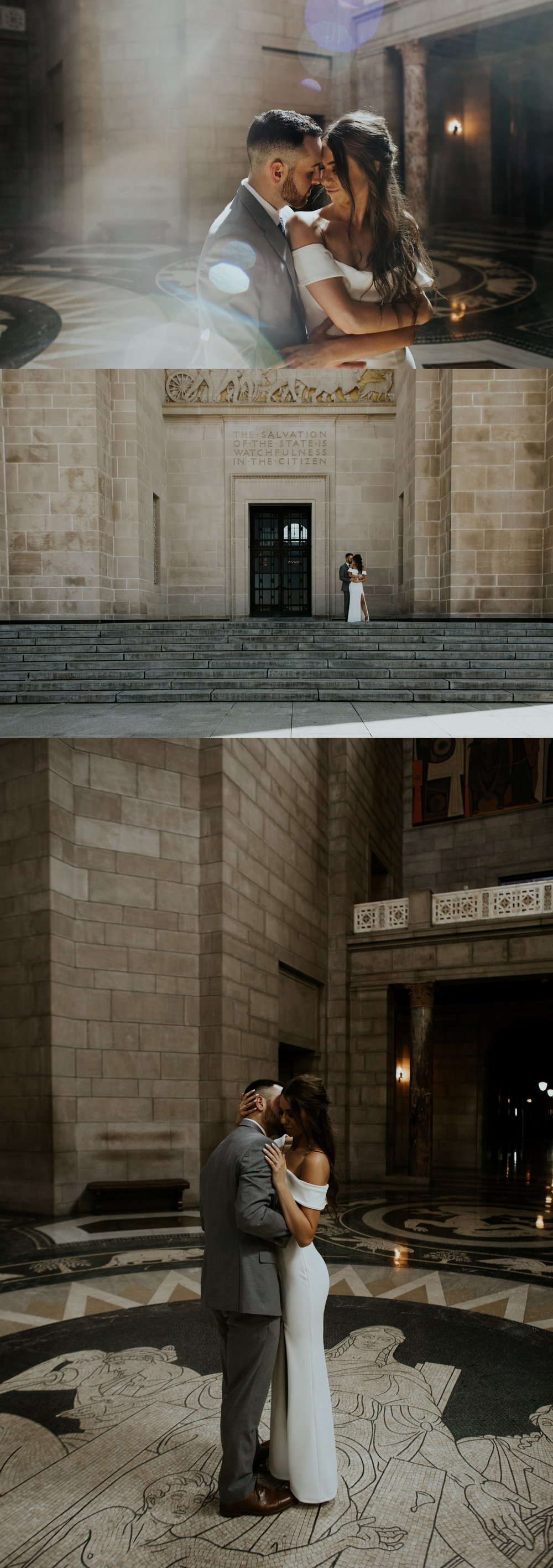 Spring Nebraska State Capitol Engagement Session - Gabby and Michael - Trin Jensen Photography_0006.jpg