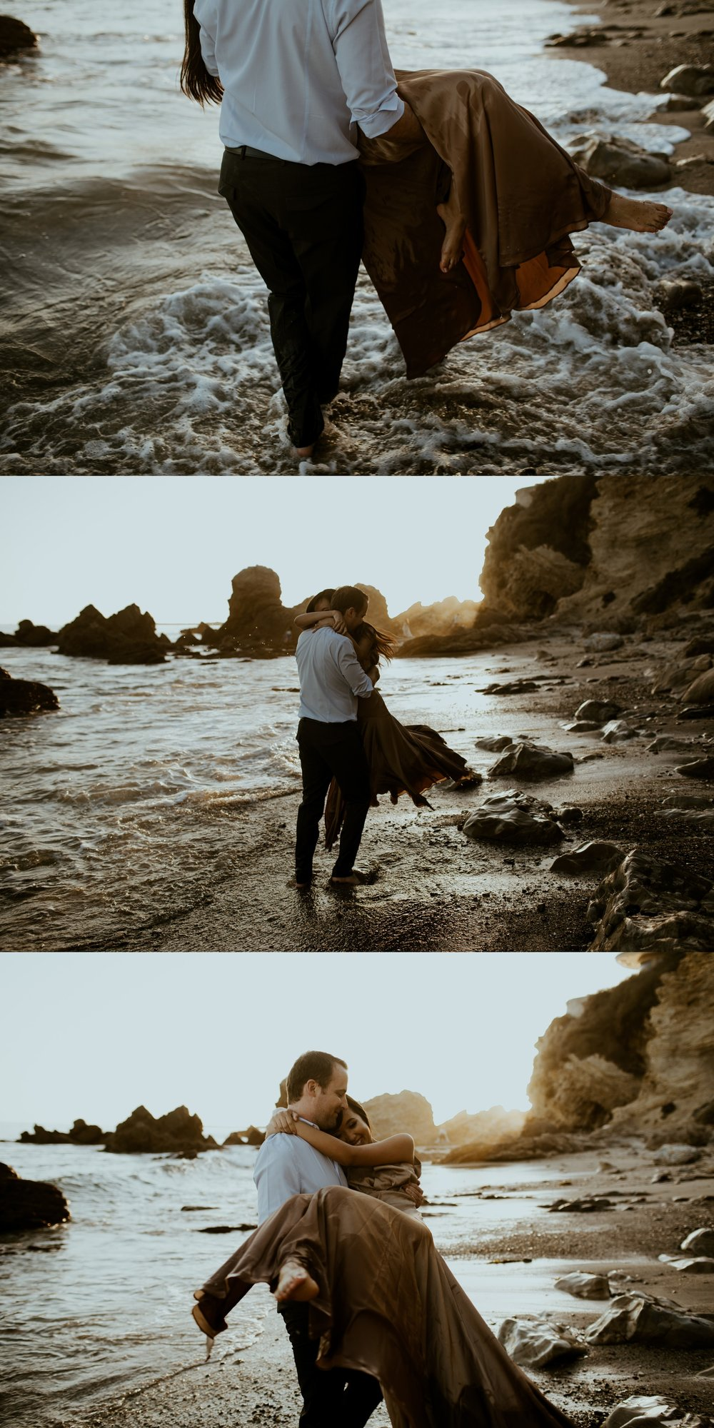 Little Corona State Beach Engagement Session - Stephanie and Zach - Trin Jensen Photography_0007.jpg