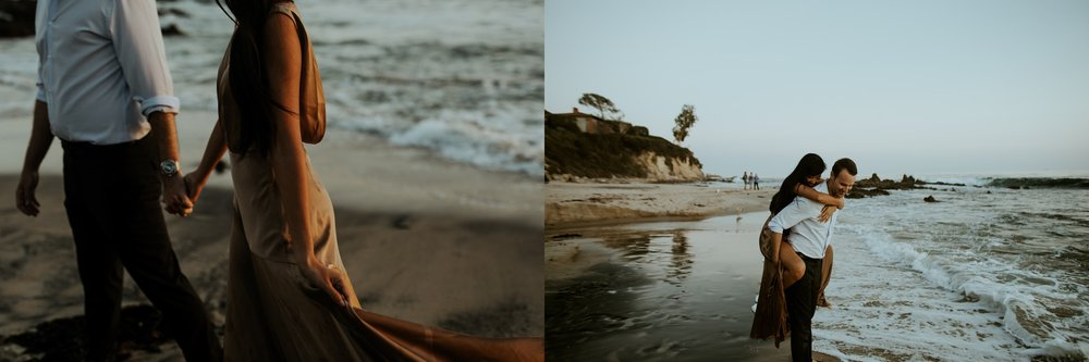 Little Corona State Beach Engagement Session - Stephanie and Zach - Trin Jensen Photography_0013.jpg