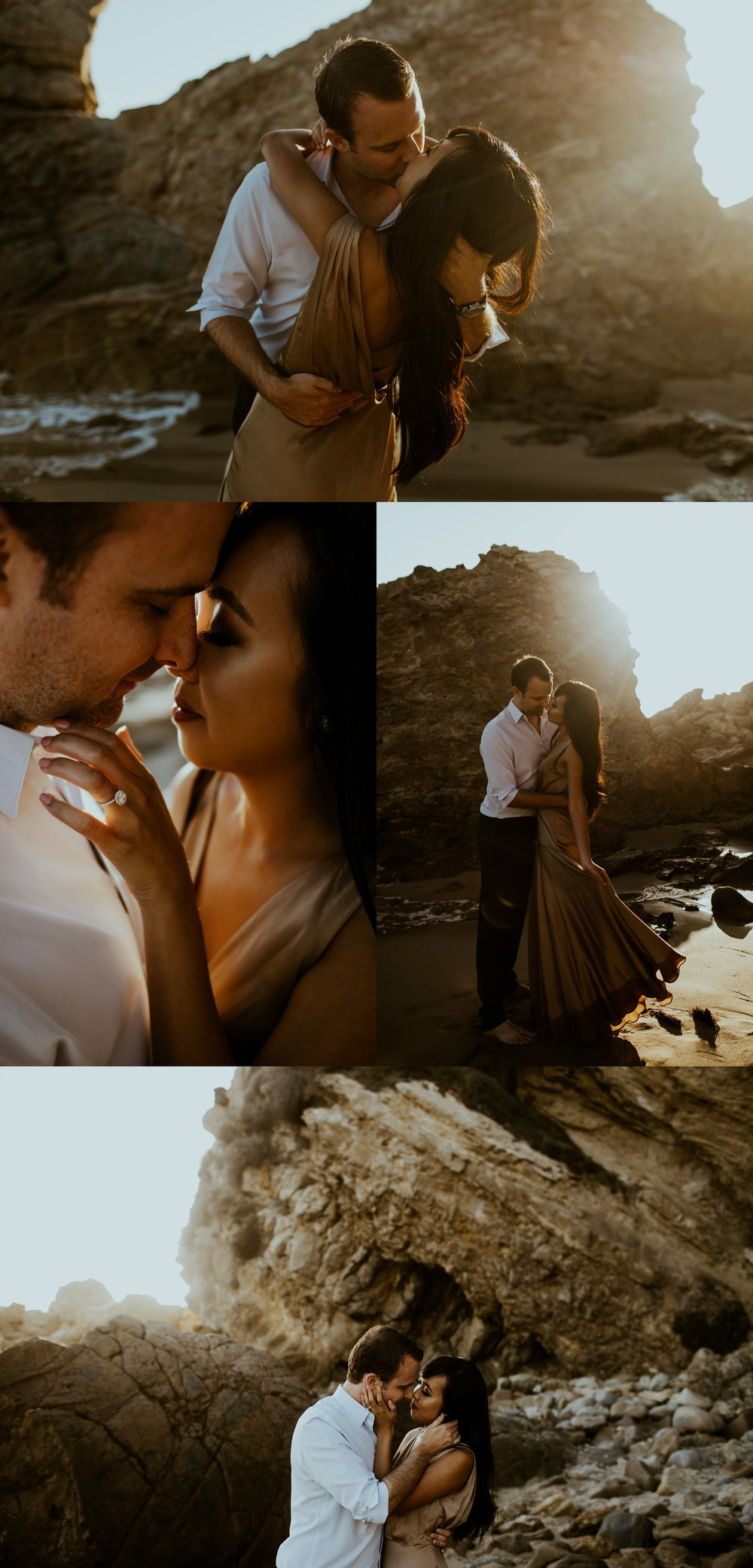 Little Corona State Beach Engagement Session - Stephanie and Zach - Trin Jensen Photography_0002.jpg