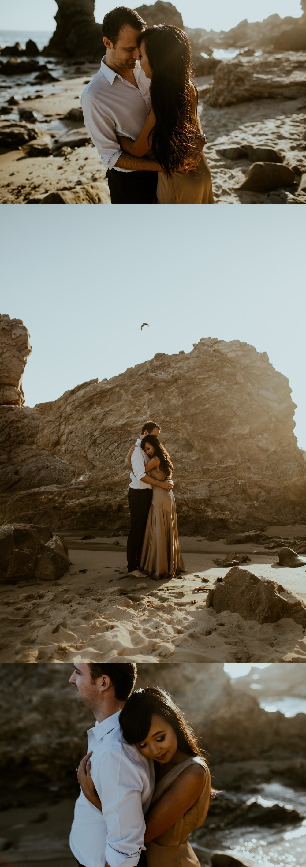 Little Corona State Beach Engagement Session - Stephanie and Zach - Trin Jensen Photography_0001.jpg