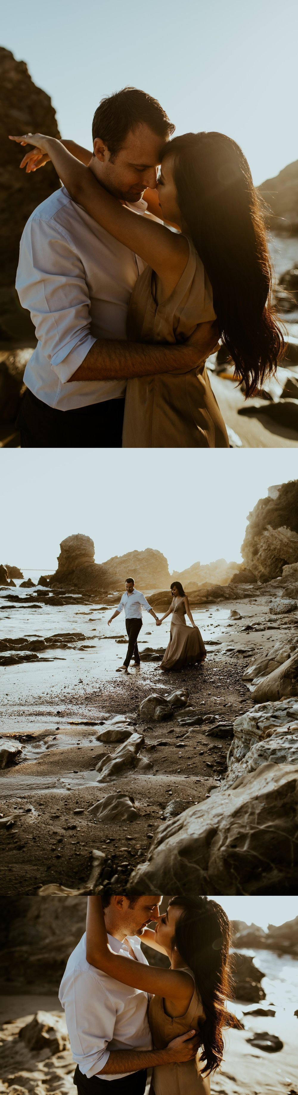 Little Corona State Beach Engagement Session - Stephanie and Zach - Trin Jensen Photography_0022.jpg