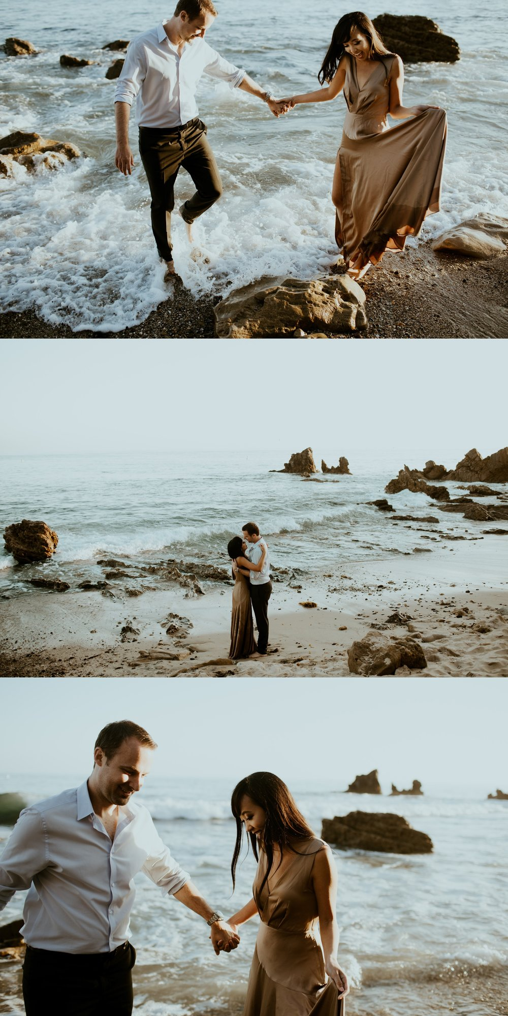 Little Corona State Beach Engagement Session - Stephanie and Zach - Trin Jensen Photography_0023.jpg
