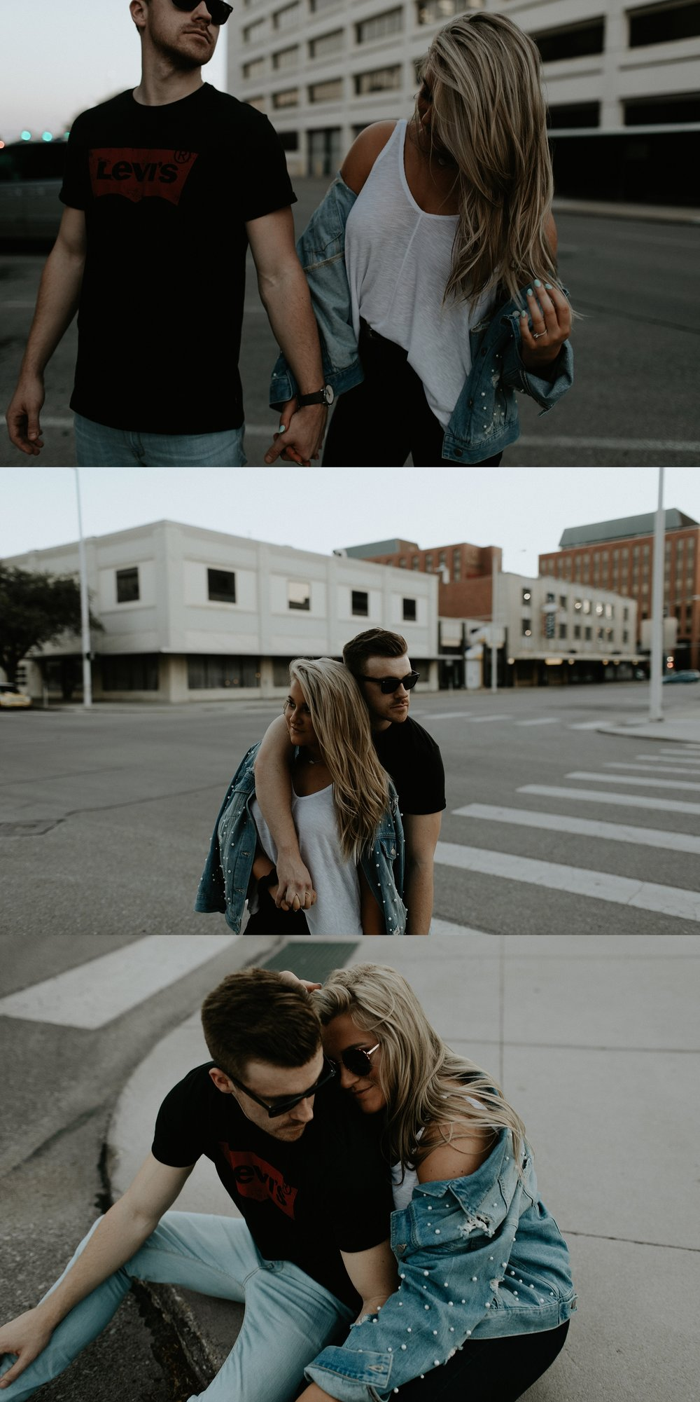 Downtown Lincoln Nebraska Engagement Session - Erin + Tom - Trin Jensen Photography_0037.jpg