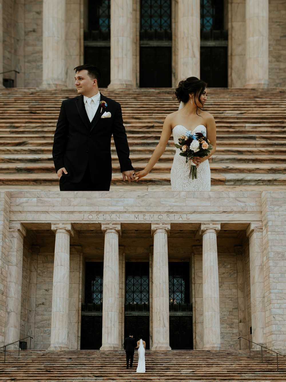 Whimsical Joslyn Art Museum Wedding by Trin Jensen - Omaha Nebraska Wedding Photographer_0019.jpg