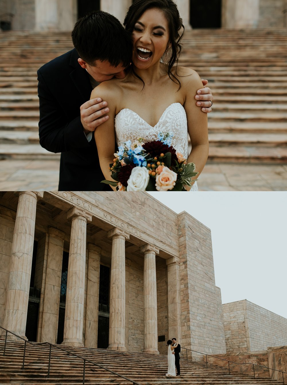 Whimsical Joslyn Art Museum Wedding by Trin Jensen - Omaha Nebraska Wedding Photographer_0023.jpg