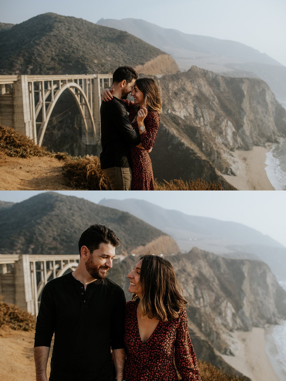 Fall Bohemian Big Sur California Engagement Session by Trin Jensen Photography_0013.jpg