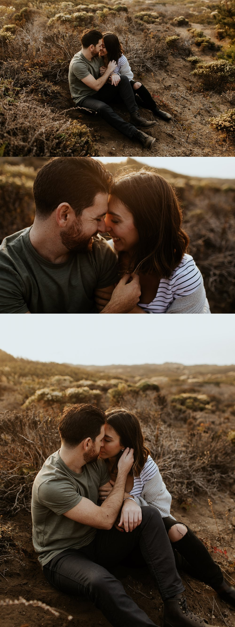 Fall Bohemian Big Sur California Engagement Session by Trin Jensen Photography_0015.jpg
