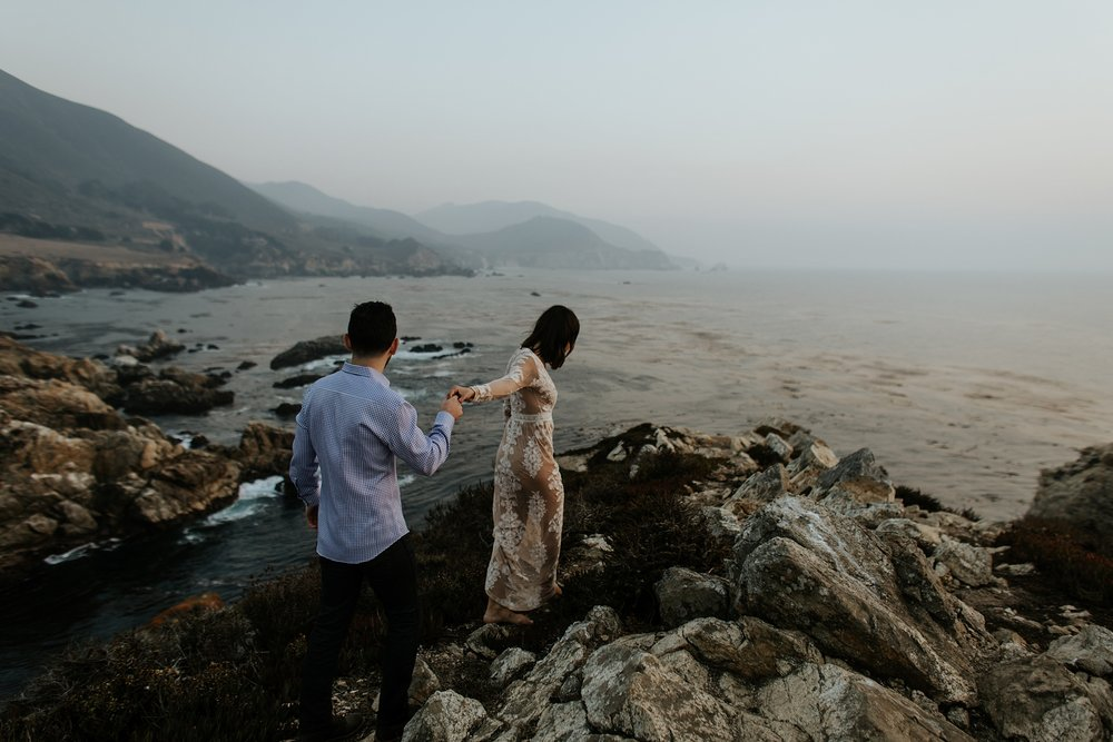 Fall Bohemian Big Sur California Engagement Session by Trin Jensen Photography_0027.jpg